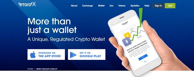 Etoro Wallet registration